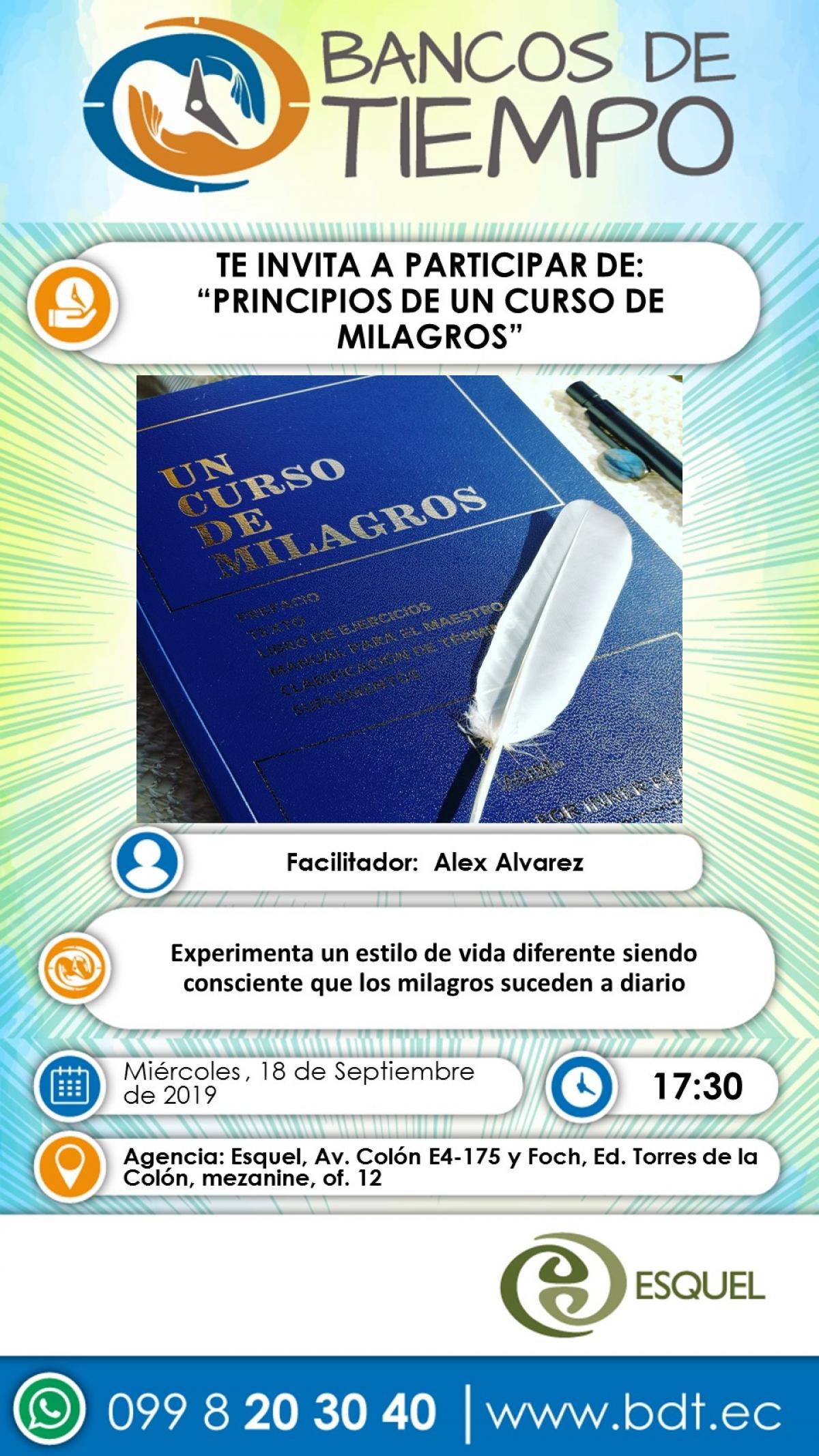 Principios de un curso de milagros